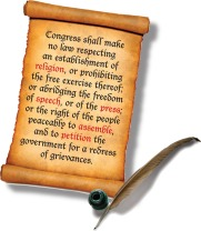 The First Amendment to the U.S. Constitution