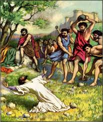 Jewish religious leaders kill Stephen, a Jew (Acts 7)