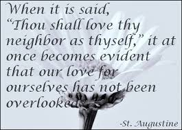 Even Augustine, the murderer that he was, got some things right.