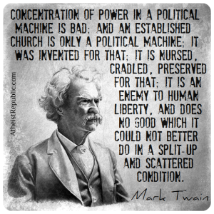 This statement by Mark Twain is correct.