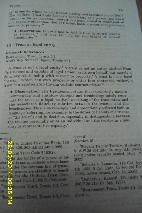 76 American Jurisprudence 2d, Trusts § 3
