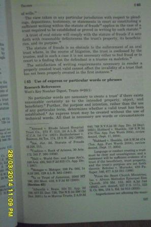 76 AM. JUR. 2D Trusts § 65