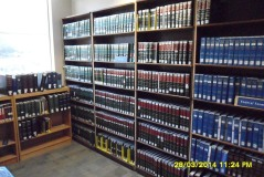 Navigating a particular law in the legal system is not as easy as it might seem. Here is a rack with the volumes from AM. JUR. 2D AND AM. JUR. 2D forms. This is only a good starting place to understand the law of trusts.