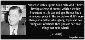 Thank you, ELC, for waking up our brain cells.