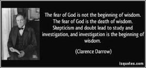 Who do you believe: Darwin or the word of God?