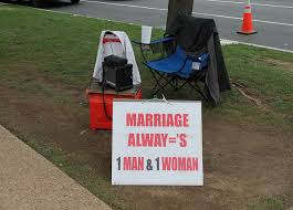 Marriage is a covenant between a man, a woman, and God.