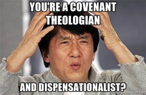 Covenant, as opposed to dispensational, theologians believe there are only 2 or 3 covenants in the Bible.